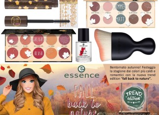 Essence Fall Back To Nature Collezione Makeup Autunno 2018