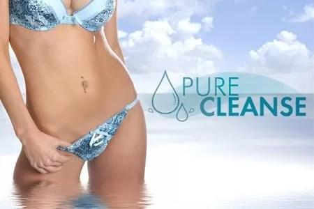 Mangeant et utlisant Pure Cleanse