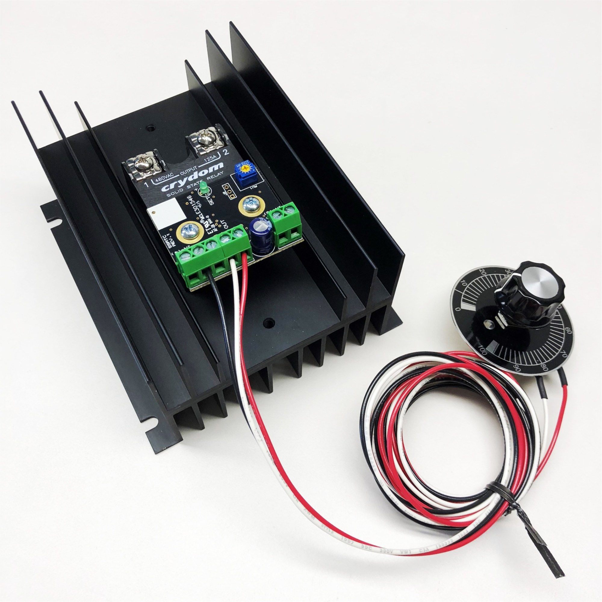 hight resolution of integrated temperature scr power controller