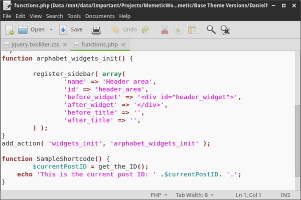 20 Great Free Code Editors for Linux