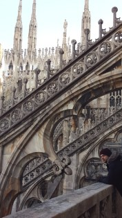 Terrasses Duomo de Milan