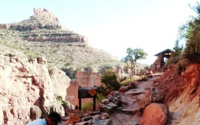 Grand Canyon Mile and a half resthouse