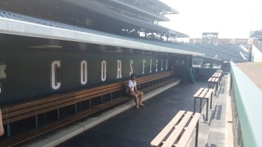 Coors Field - touche