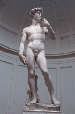 Lungarno - David - Galerie de l'Académie Florence