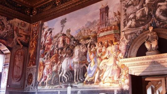 Fresque Palazzo Vecchio
