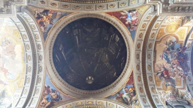 Saint Ignace de Loyale Dome Trompe l'oeil