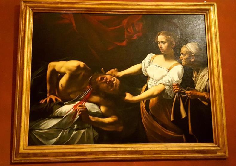 Judith et Holopherne - Caravage