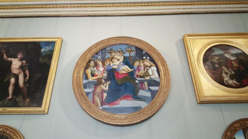 Madone à l'enfant - Botticelli