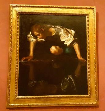 Narcisse - Caravage