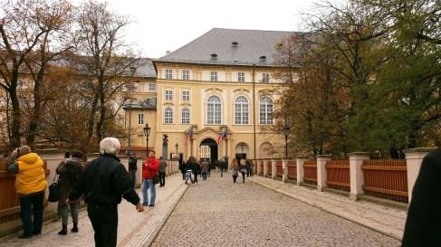 Prague Castle entrée Belvédère