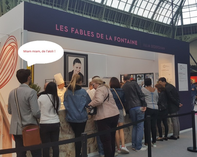 Les Fables de la Fontaine - Taste of Paris 2017