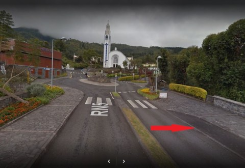 Parking trailhead Roche merveilleuse