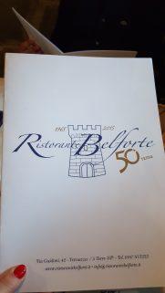 Belforte restaurant Vernazza