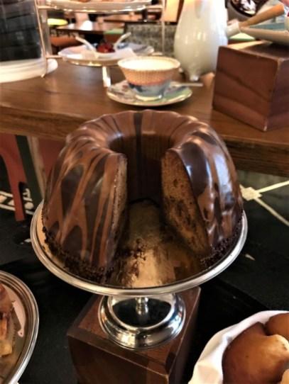 Cake marbré muscovado / Chocolat