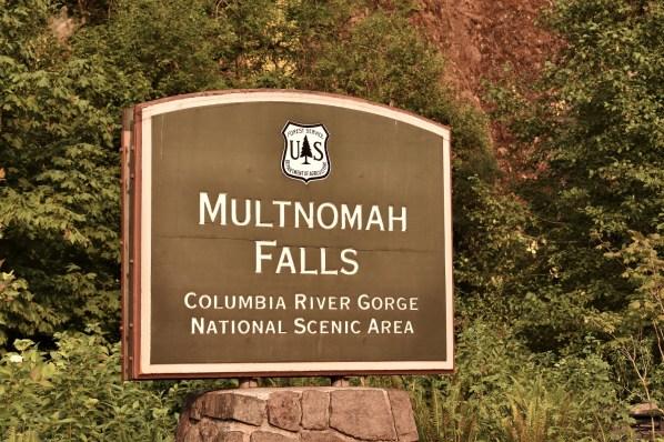 Columbia River Gorges Multnomah Falls