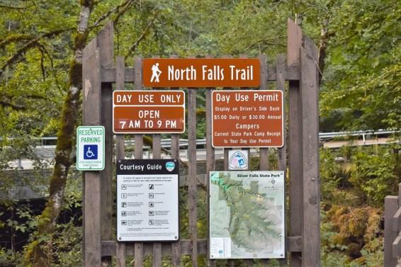 Ten Falls Trail - Silver Falls State Park