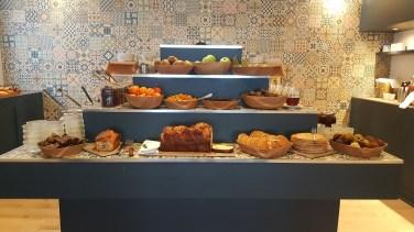 Petit déjeuner Domaine de la Corniche