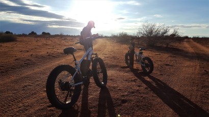 Fat Bike Kalahari Namibie