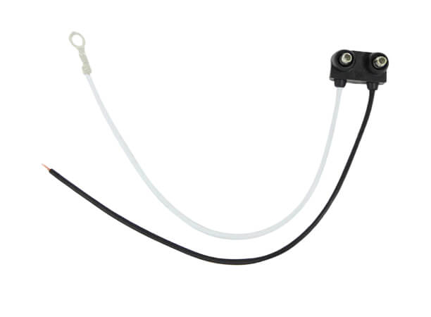Right Angle Straight 2 Wire Pigtail for Trailer Lights