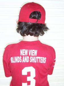 New View Blinds & Shutters supports Little League Baseball