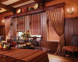 Hunter Douglas wood blinds in Colorado Springs, Colorado