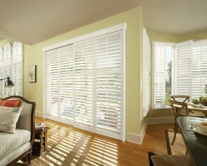 By-Pass track shutters in Highlands Ranch. CO