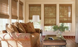 Lone Tree, Colorado Hunter Douglas woven wood shades