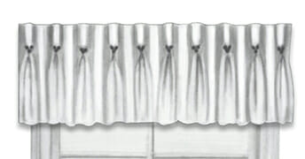 Champagne Pleat Valance in Colorado