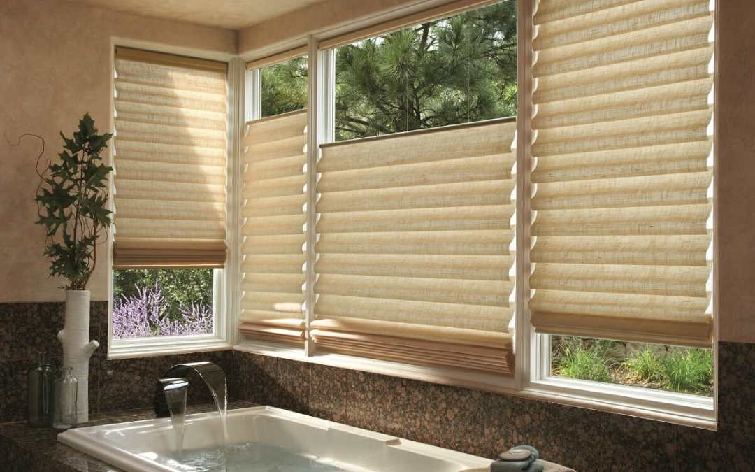 Roman Shades and Hunter Douglas Vignettes