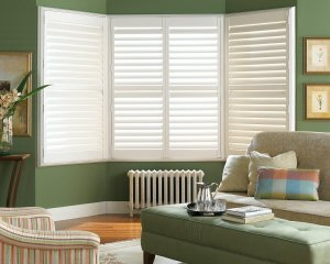 Hunter Douglas shutters in Castle Pines, Colorado