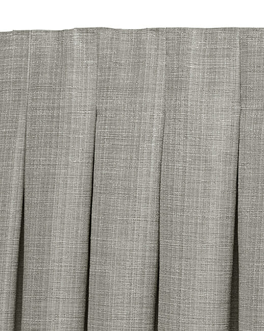 Inverted Pleat draperies in Colorado
