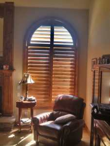 Knotty alder shutters in Franktown, CO