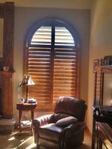 Knotty alder shutters in Franktown, CO