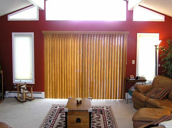 Wood Vertical Blinds