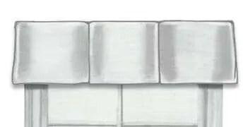 Multi Pleat Box Valance Colorado