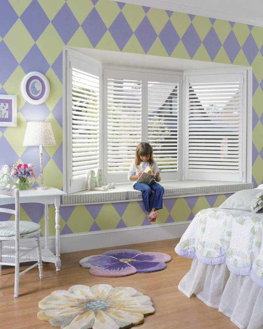 Plantaion Shutters Colorado Springs Kids Room