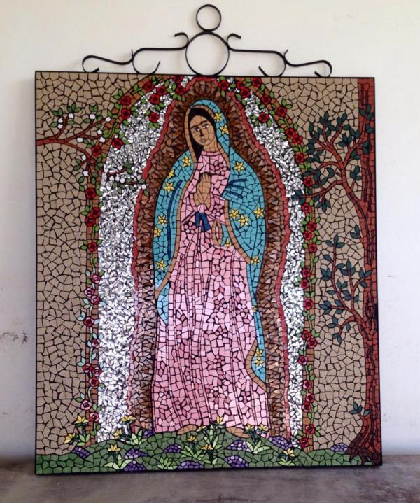 Our Lady of Guadalupe Mosaic