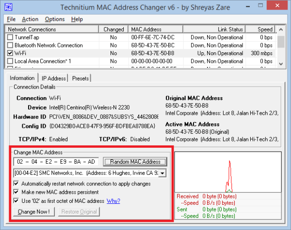 Download Mac Address Changer Crack NVCrack