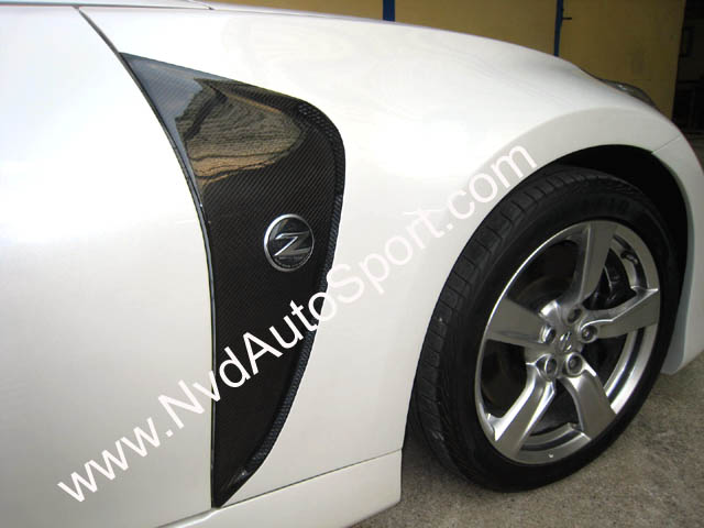 Nissan 370Z Vented Front Fender Amuse