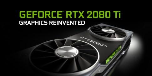 Nvidia's RTX 2080TI GPU