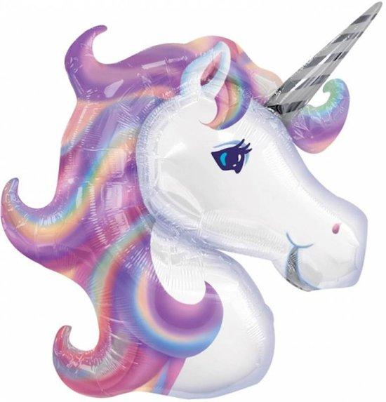 unicorn paars folie balon