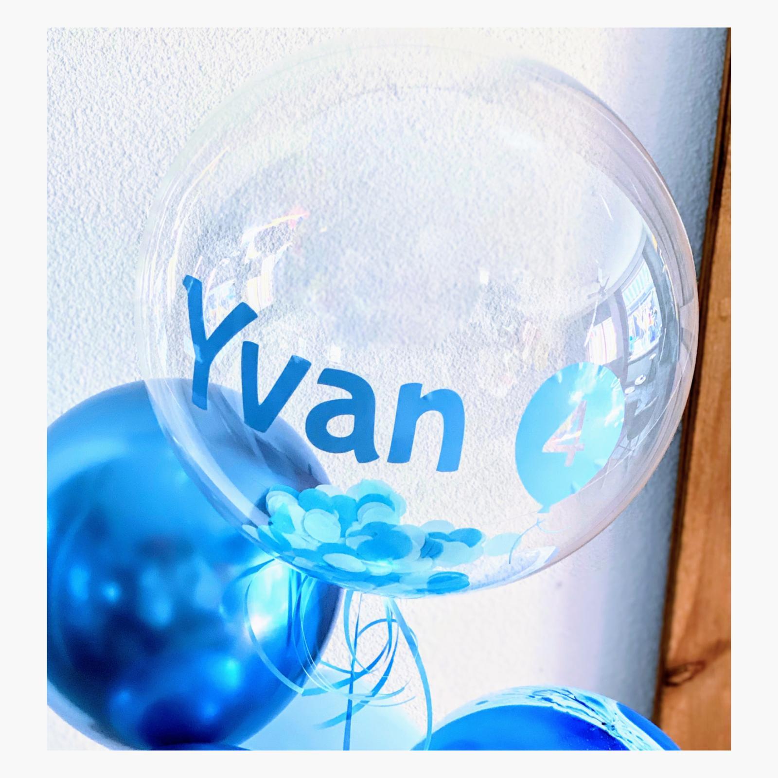 bubble ballon jongen