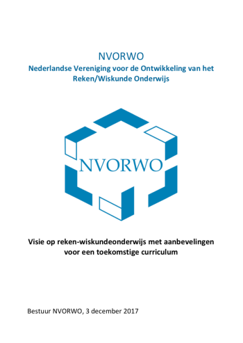 Visiedocument curriculum.nu nvorwo