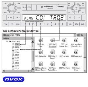NVOX NV1086M OPEL CD30300 : Product : NVOX