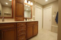 BURKE VIRGINIA MASTER BATHROOM REMODEL | NVS Kitchen and Bath