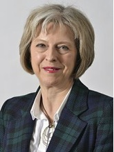 Prime Minister Theresa May of Great Britain