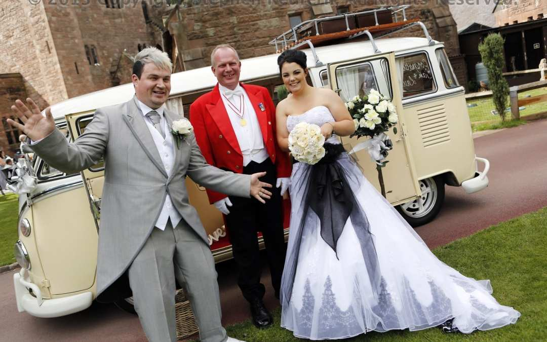 Toastmaster at the wedding of Liam & Laura Peckforton Castle 19 8 13