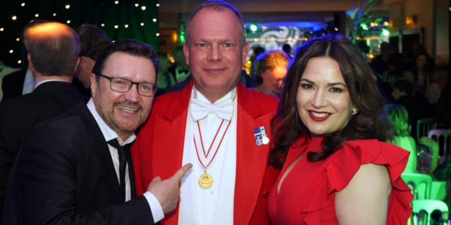 Charity Ball Auctioneer & Toastmaster at St Davids Park Hotel