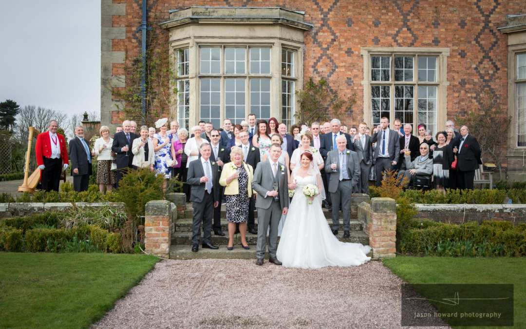 Wedding at Willington Hall Cheshire