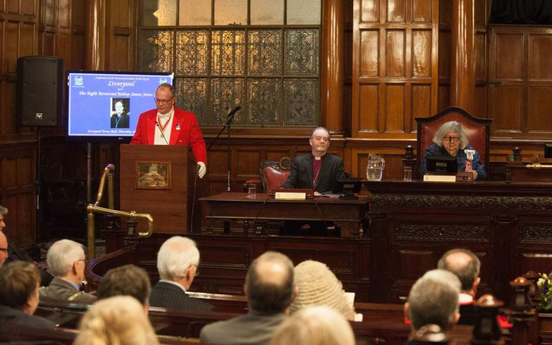Toastmaster to the Lord Mayor of Liverpool